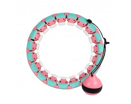Amazon New Mobile Gym Fitness Hula Hoop Detachable Intelligent Loss Weight Thin Waist Fitness For Smart Hula Hoop