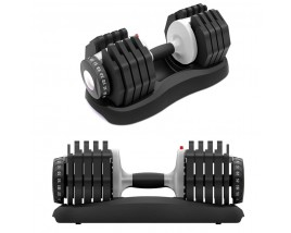55lb 25kg Adjustable Dumbbell Fitness Dial Dumbbell with Handle for Strength Training Weight Dumbbell Adjustable Set