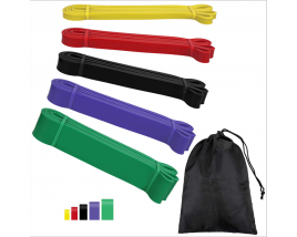 Gym Fitness Latex Resistance Bands Loop Yoga Resistance Band Bar Power Leg Exercise Stretch Pull Up Stretch Bands Set
