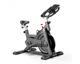 China Aluminum Alloy Fitness Spinning Bikes With Monitor For Sale Display