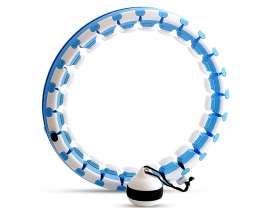 24Konts Smart Weighted ABS Detachable Hula Hoop With EU Patent For Body Fitness