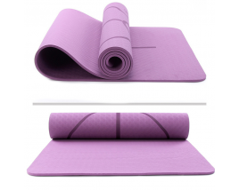 Whoelsale Cheap Price TPE Yoga Balance Mat With Body Line Portable Pilates Set For Gymnastics