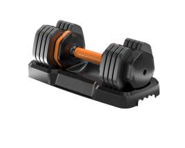 2021 New Bodybuilding Trends Weight Lifting And Adjustable Free Weights 55LBS 25KGS Adjustable Dumbbell With Tray