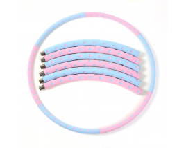 Stable 8 Segment Detachable Fitness Hola Stainless Steel Fitness Hoola Ring Body Slimming Hula Hoops Weighted