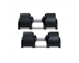 Wholesale Gym 32kg Adjustable Dumbbell Set Gym Dumbbell Set Weightlifting Fitness Barbell set