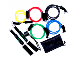 Sports Equipment 11 pcs Pull up Resistance Bands Set Grip Rope Set Physical Training Rope Loop Resistance Bands