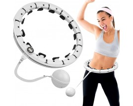16 Knots Detachable Smart Calories Counting Weighted Hula  Hoop For Adults