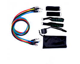 Hot Selling Exercise Fitness Latex 11pcs Pull up assist Loop Bands Resistance Loop Bands Set 11pcs with logo