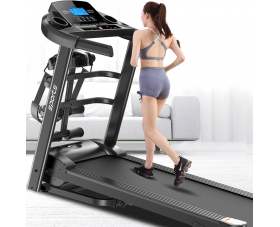 High Quality Electronic Folding Treadmill Running Machine Home Use Treadmills With 3.5'' LCD Screen