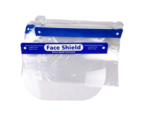 Hot Sale Protective Medical PET Material Face Shield