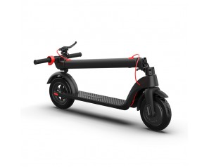Oversea Warehouse 10 Inch ExplosionProof Pneumatic Tire Folding Mini Adult Aluminum Alloy Lithium Battery Electric Scooter