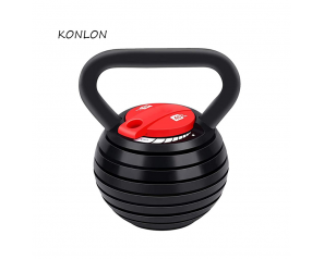 Cast Iron Adjustable Kettlebell Competition Kettlebell Fitness with Dumbbell Plates