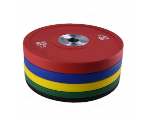 20LBS High Quality Colorful Weight Lifting Rubber Bumper Plates