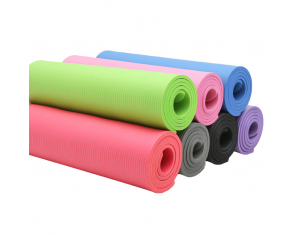 Factory Custom NBR Yoga Mat Fitness And Exercise Mat Eco Friendly Fitness Yoga Mat