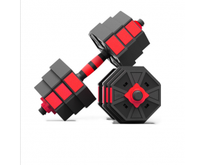 Wholesale Cement Adjustable Dumbbell Fitness Barbell Dumbbell Set Hand Weight Gym Equipment