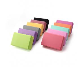 High Quality Custom Double Layer Non-Slip EVA Yoga Block Blocks Foam Bricks For Yoga Woman