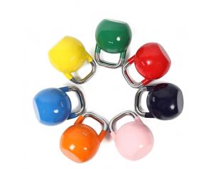 4-32kg Candy Color Coated Kettlebell Competition Kettlebell Set squat Kettlebells