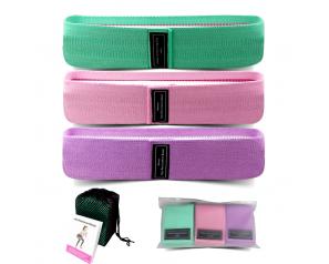 Yoga stretch bands Bar Training Pull Rope For Sports Pilates Hip belt Fitness Hip Loop Resistance Bands Squat belt