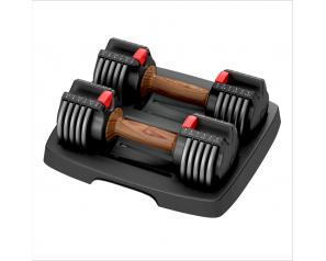 6.6KGS Adjustable Dumbbell Fitness Weights Body Dumbells Adjust dumbbell set