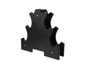 3 Tiers Rack For Neoprene Dumbbell Sets PP PVC Dumbbell Stands