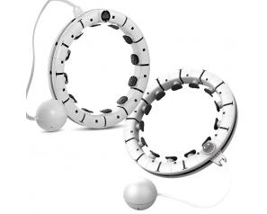 2021 Hot Sale Detachable Smart Hula Ring Hoop Adjustable Massage Hula-hoop With LED Counter And Ball