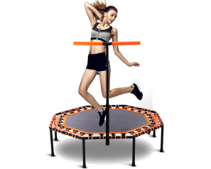 Fitness Outdoor 15FT Octagonal Trampoline Elastic Rope Trampoline Manufacturers with Handrails For Sale